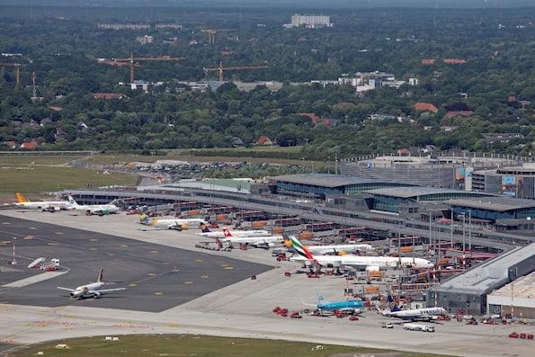 Luftaufnahmen Hamburg
